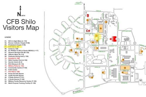SHILO MAP